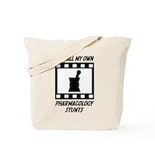 Pharmacology Stunts Tote Bag