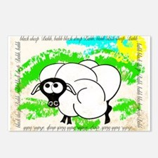 Bahh Bahh Sheep Postcards (Package of 8)