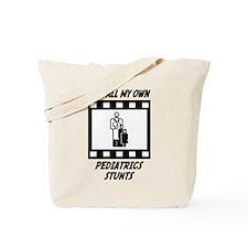 Pediatrics Stunts Tote Bag