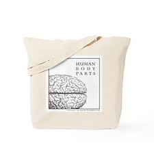Human body part Tote Bag