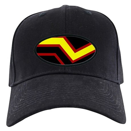 Rubber Pride Flag Black Cap