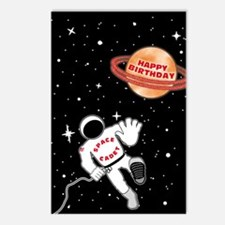 Space Cadet Late Birthday Postcards (Package of 8)