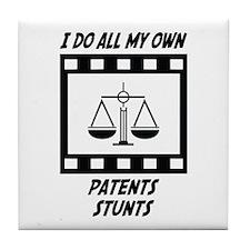 Patents Stunts Tile Coaster
