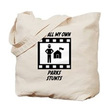 Parks Stunts Tote Bag