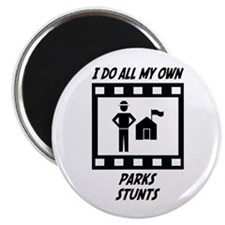 "Parks Stunts 2.25"" Magnet (10 pack)"