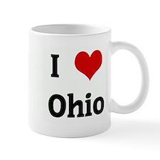 I Love Ohio Small Mug