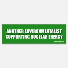 Environmentalist Nuclear Bumper Bumper Bumper Sticker