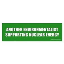 Environmentalist Nuclear Bumper Bumper Sticker