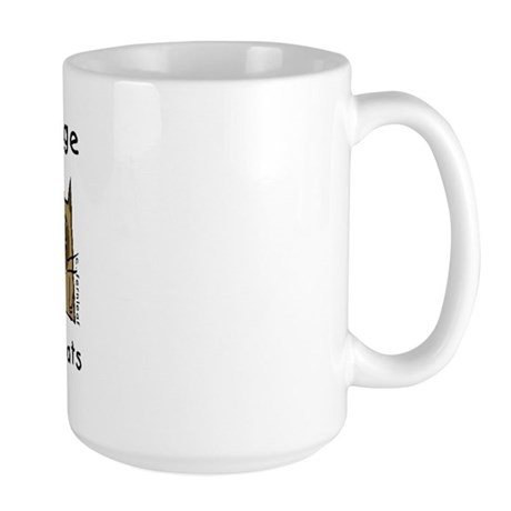 Takes a Village, Feral Cats Large Mug