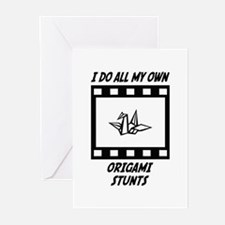 Origami Stunts Greeting Cards (Pk of 20)