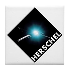 Hershel Space Telescope Tile Coaster