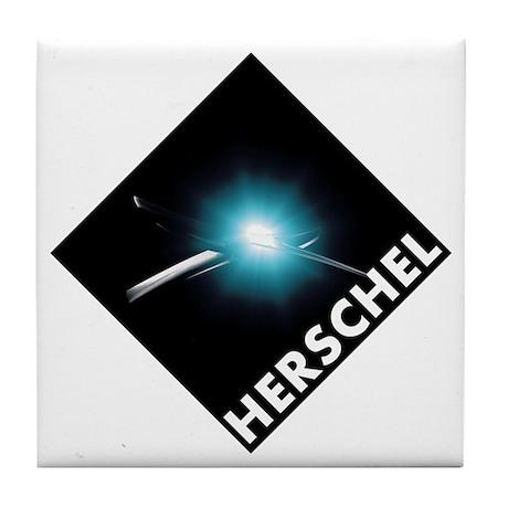 Hershel Space Telescope Tile Coaster