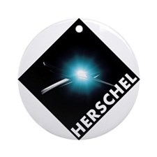 Hershel Space Telescope Ornament (Round)