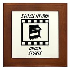 Organ Stunts Framed Tile