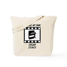 Organ Stunts Tote Bag