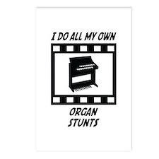Organ Stunts Postcards (Package of 8)