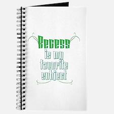 I Love Recess Journal/Notebook
