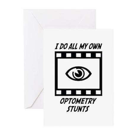 Optometry Stunts Greeting Cards (Pk of 10)