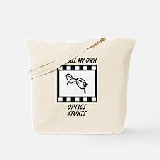 Optics Stunts Tote Bag