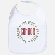 Connor Man Myth Legend Bib