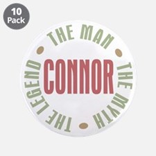 "Connor Man Myth Legend 3.5"" Button (10 pack)"
