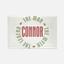 Connor Man Myth Legend Rectangle Magnet