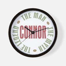 Connor Man Myth Legend Wall Clock