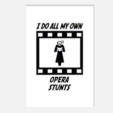 Opera Stunts Postcards (Package of 8)