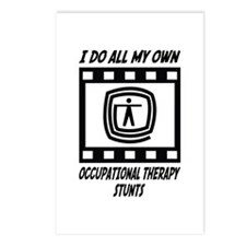 Occupational Therapy Stunts Postcards (Package of
