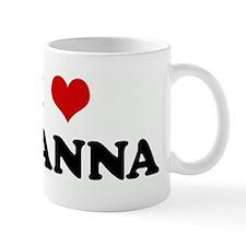 I Love DEANNA Mug