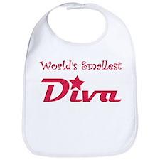 'World's Smallest Diva' Bib