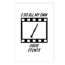Oboe Stunts Postcards (Package of 8)