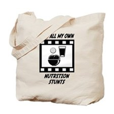 Nutrition Stunts Tote Bag