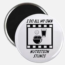 "Nutrition Stunts 2.25"" Magnet (100 pack)"