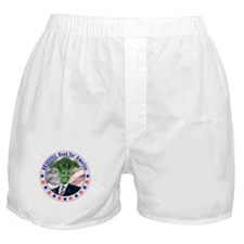Broccoli Obama Boxer Shorts