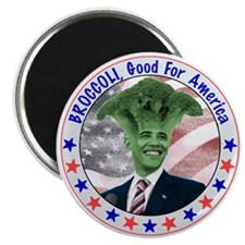 Broccoli Obama Magnet