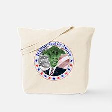 Broccoli Obama Tote Bag