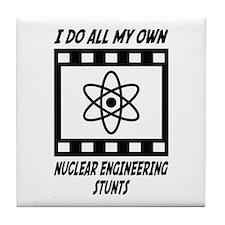 Nuclear Engineering Stunts Tile Coaster