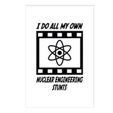 Nuclear Engineering Stunts Postcards (Package of 8