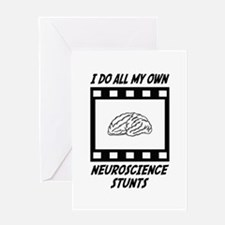 Neuroscience Stunts Greeting Card