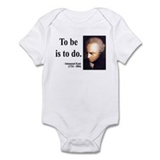 Immanuel Kant 1 Infant Bodysuit