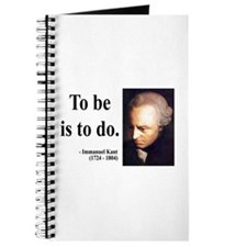 Immanuel Kant 1 Journal