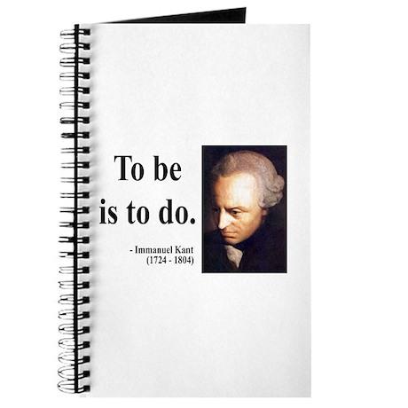 Immanuel Kant 1 Journal