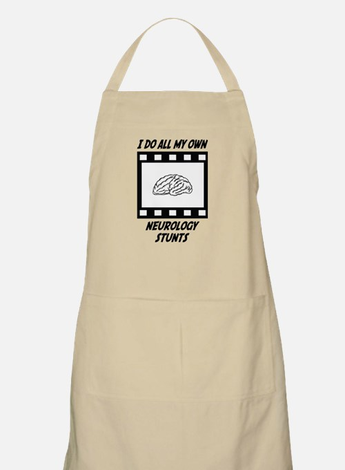 Neurology Stunts BBQ Apron