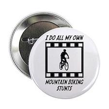 "Mountain Biking Stunts 2.25"" Button"
