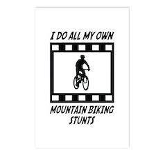 Mountain Biking Stunts Postcards (Package of 8)