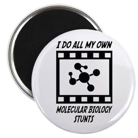 "Molecular Biology Stunts 2.25"" Magnet (10 pac"