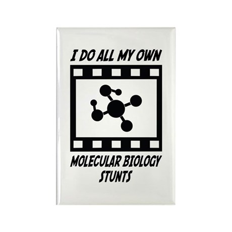 Molecular Biology Stunts Rectangle Magnet (100 pac