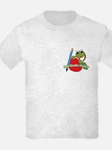 First Grade Genius Frog T-Shirt