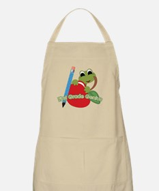 First Grade Genius Frog BBQ Apron